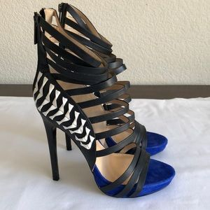 Bebe Gladiator Heels